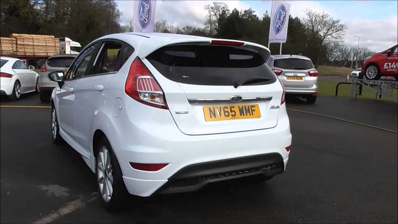 Ford New Fiesta 2016 My Anium 1 0 Ecoboost 100ps 5 Sd Manual 5dr U31129