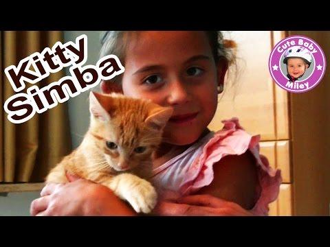 Baby Katze - Miley mit Kitty Simba - Kinderkanal