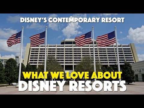 Disney's Contemporary Resort | What We Love About Disney Resorts