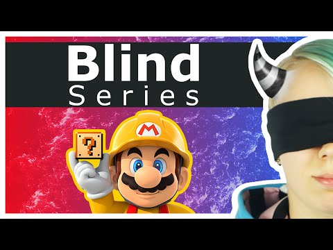 Super Mario Maker: Blindfold Challenge - Use your eyes!