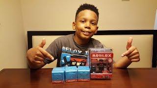 mini roblox haul & mystery unboxing