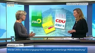Prof. Andrea Römmele zu den Gründen für den Abbruch der Sondierungsgespräche