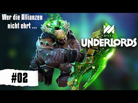 Dota Underlords - Wer die Allianzen nicht ehrt ... [Deutsch Gameplay German] #02