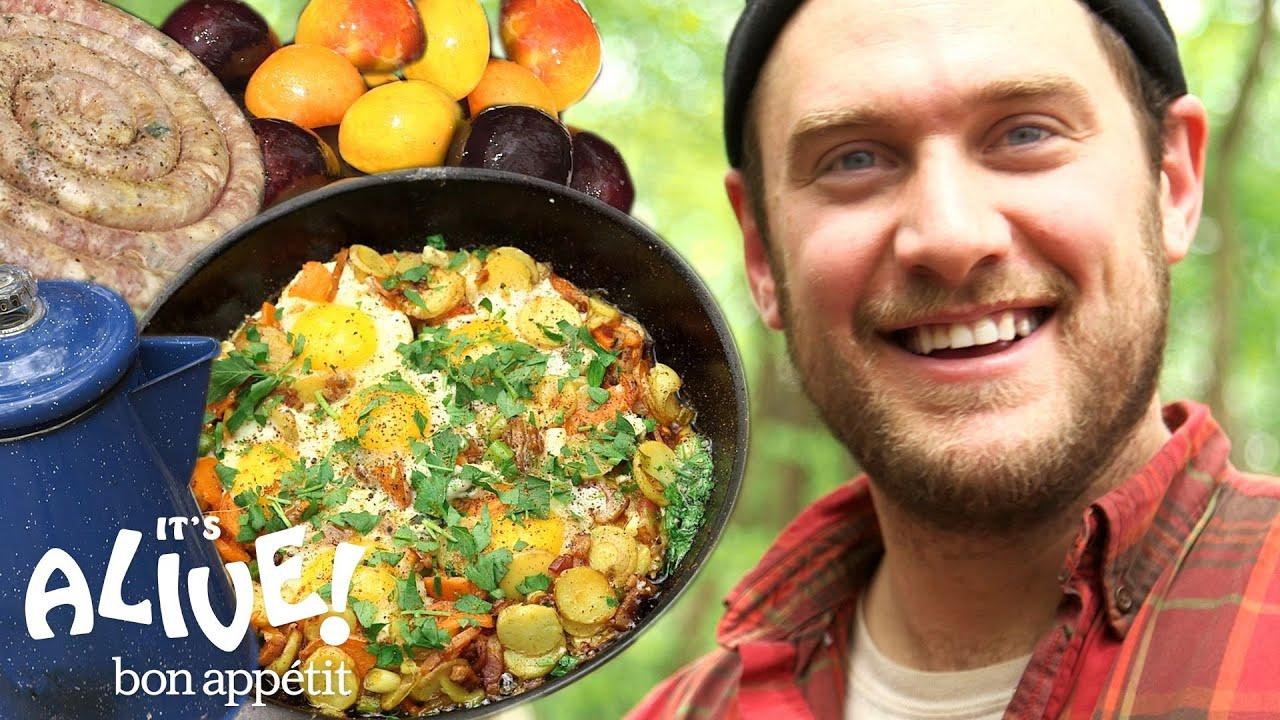 Brad Makes Campfire Breakfast   It's Alive   Bon Appétit #1