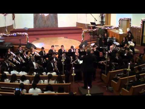 San Diego Academy Band - Hark the Herald Angels Sing   Band