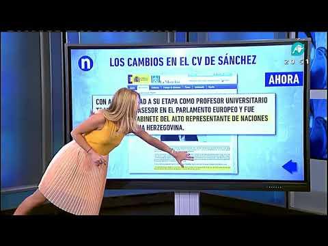 ¿Miente Sánchez en su CV?