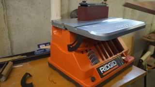 Review - Ridgid Oscillating Edge/belt Spindle Sander