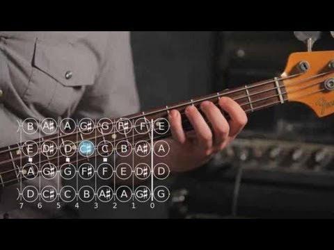 How to Play an A Major Scale | Bass Guitar