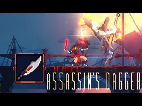 Dead cells weapon guide where and how to find every weapon dead cells assassins dagger level 1 only run malvernweather Images