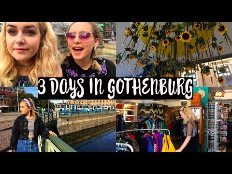 3 DAYS IN GOTHENBURG FOR MY 21ST BIRTHDAY