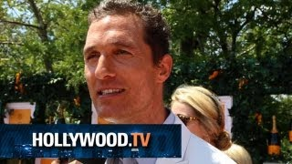 Ashley Olsen, Matthew McConaughey and Rosario Dawson enjoy an afternoon of Polo - Hollywood.TV
