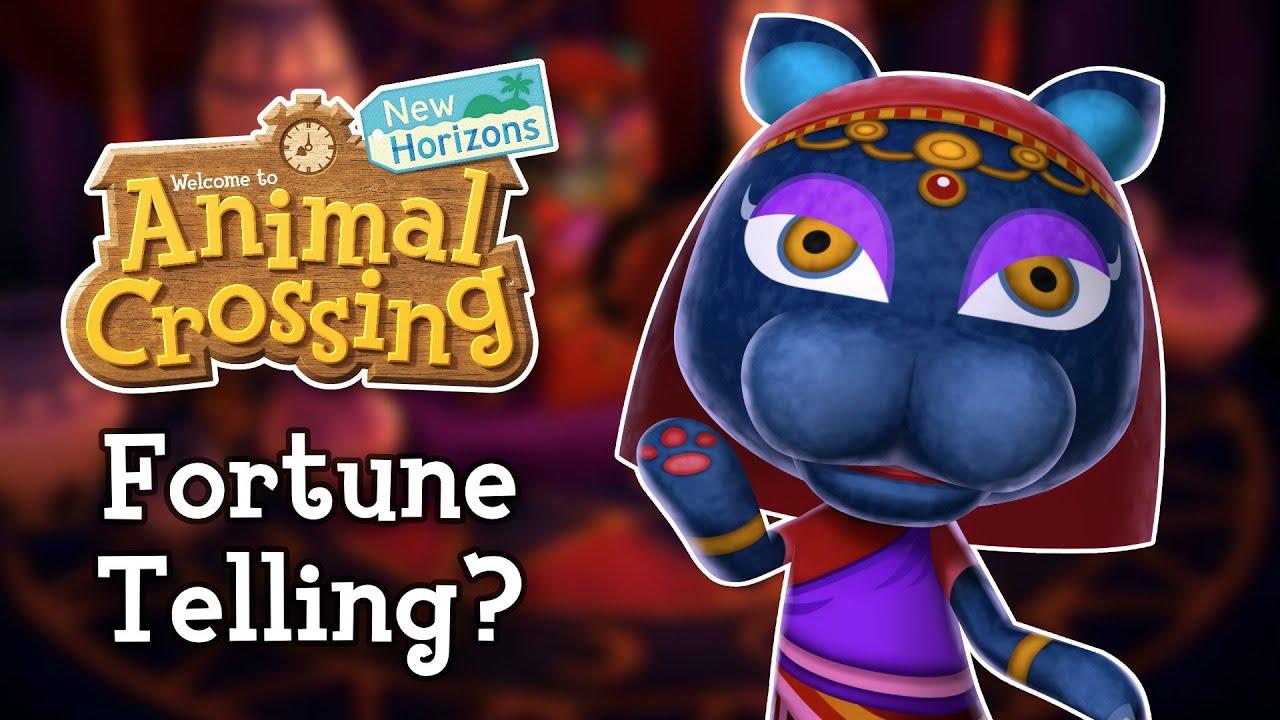Animal Crossing New Horizons - Fortune Telling (Will Katrina Return?)