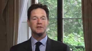 Eid al-Fitr 2014: Nick Clegg