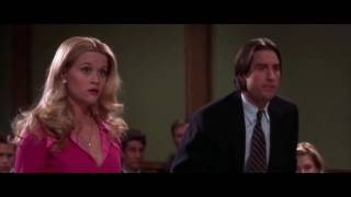 Legally Blondes courtscene