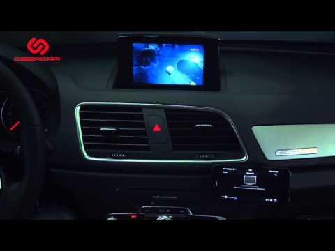 Audi : Kibercar. Видеоинтерфейс KiberLink и модуль I-Connect