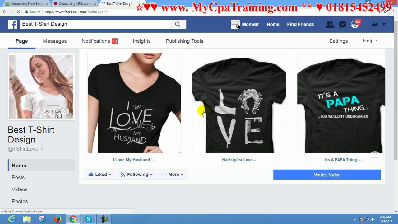 Facebook ad horses niche contact 01764608434 youtube for T shirt ads on facebook