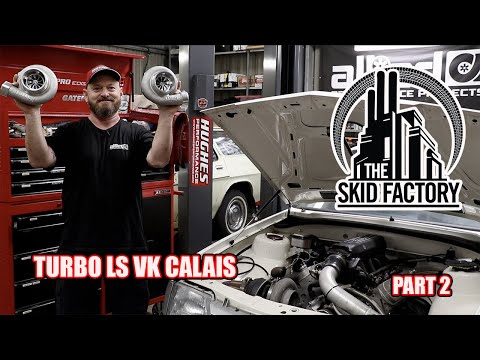 6 Litre Turbo LS + $6000 Turbos - THE SKID FACTORY