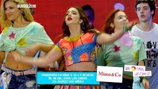 ¡Ángela Torres y el elenco de Simona cantaron sus éxitos en #UnSol2018!