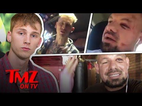 Machine Gun Kelly Attacks Hater | TMZ TV