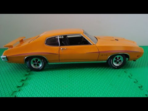 "Review of a 1:18 1970 Pontiac GTO ""The Judge"", by GMP"