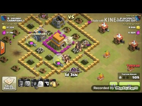 Clash Of Clans KLAN SAVASLARI .DEV$SIFACI BOLUM/#1