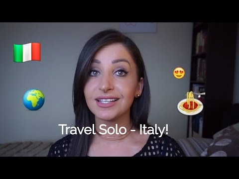Solo Travel Tips - Italy - Blending in and staying safe.