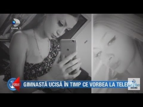 Stirile Kanal D (28.11.2018) - Gimnasta ucisa in timp ce vorbea la telefon! Editie COMPLETA