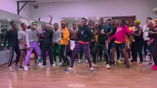 The best!!!! Sho Madjozi  John Cena dance by dwp Academy