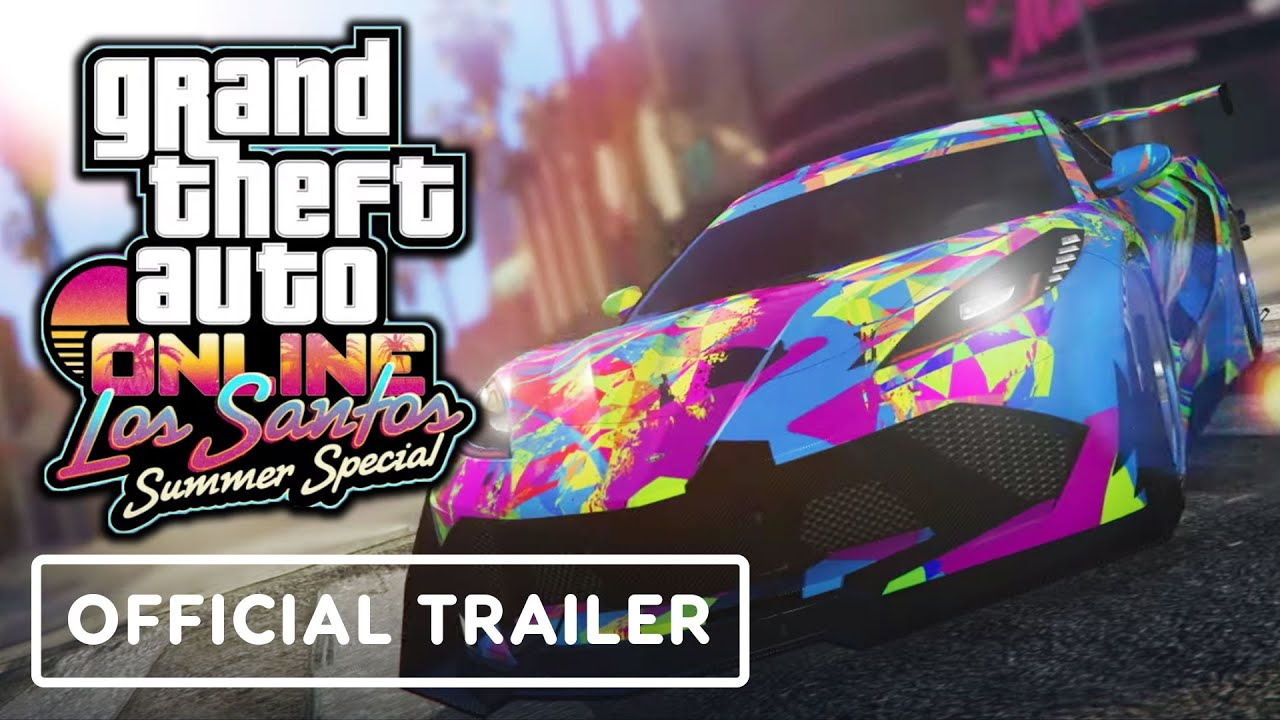 GTA: Online: Los Santos Summer Special - Official Trailer - IGN