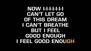 Evanescence - Good Enough (Karaoke)