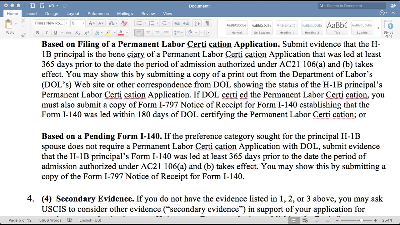 HOW TO FILL I-765 FORM? - YouTube