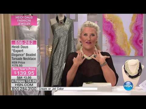 HSN | Heidi Daus Fashion Jewelry 01.25.2017 - 06 PM
