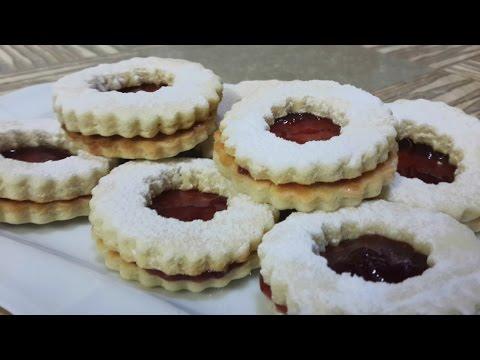 biscuits-sablés-à-la-confiture-|-بسكويت-سابلي-بالمربى