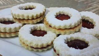 Biscuits Sablés à la Confiture |  بسكويت سابلي بالمربى