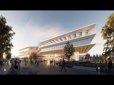 San Jose City College, Career Education Building Flythrough