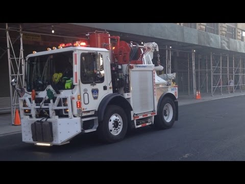 *EXTREMELY RARE* NY & NJ Port Authority Fire Rescue Truck Responding