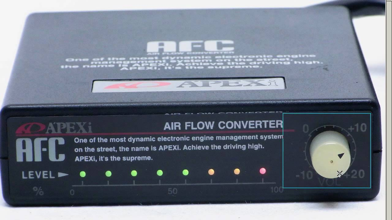 Apexi Safc Super Afc Air Fuel Converter A F Controller Youtube Wiring Diagram For Supra Mk2
