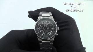 Мужские японские наручные часы Casio Edifice EF-500D-1A(Casio Edifice EF-500D-1A http://www.alltime.ru/catalog/watch/374/casio-edifice/Man/9160/detail.php?ID=60263&back=list., 2013-02-09T07:51:45.000Z)