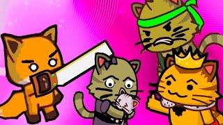 ИГРА как мультик - Ударный отряд котят 2 - Strike force kitty 2 - Для Детей - часть #1