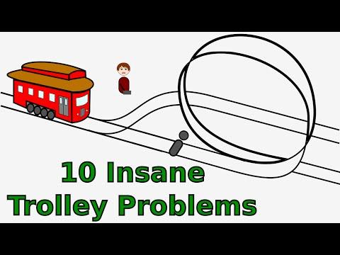 10 Insane Trolley Problems