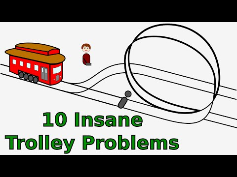10 Insane Trolley Problems
