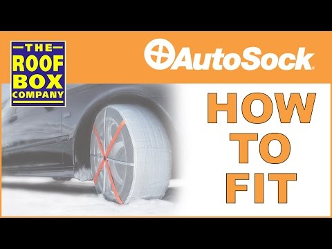 AutoSock Snow Socks - How To Fit
