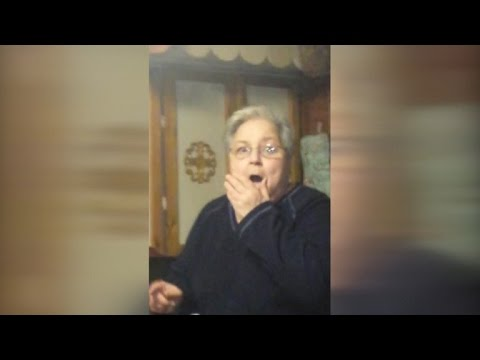 Grandmother Has the Greatest Reaction to Puppy Surprise