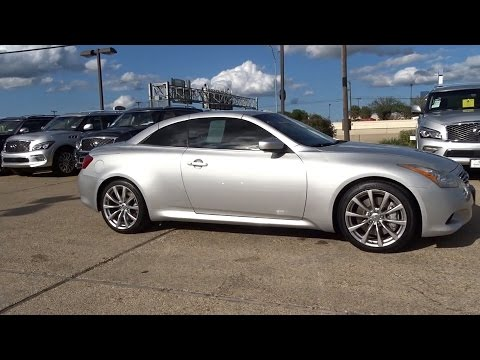 2009 Infiniti G37 Convertible San Antonio, Austin, Houston, Dallas, New Braunfels, TX IT150033A
