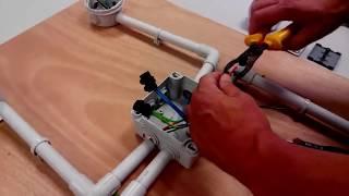 Nstaller Un Interrupteur Et Une Lampe - Simple Allumage - 2