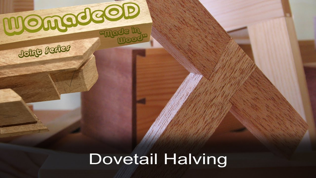 Download Dovetail Halving Joint
