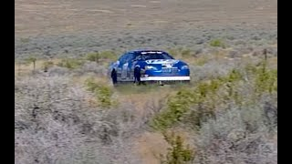200 + MPH 2006 Dodge Charger SCREAMING on public highway 2011 SSCC Silver State Classic Jim Peruto