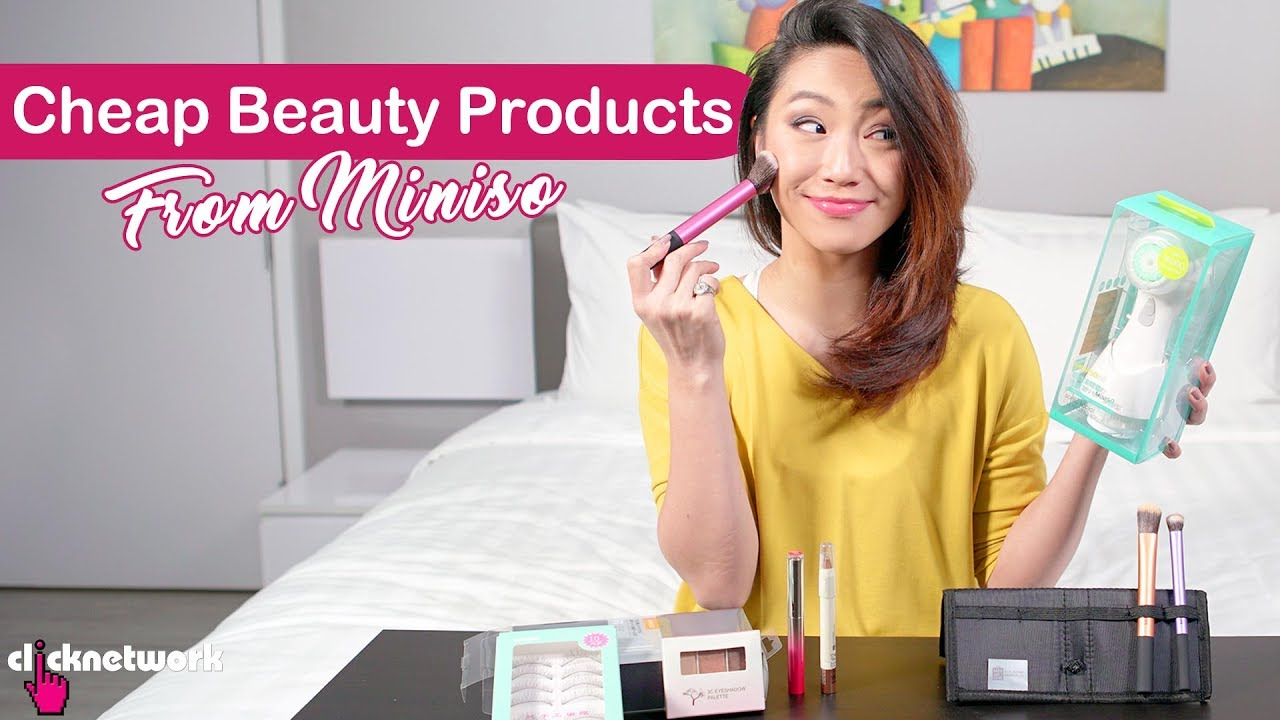 a50c3eebad3 Cheap Beauty Products From Miniso - Tried and Tested: EP113 - YouTube