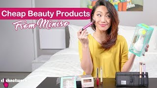 Cheap Beauty Products From Miniso - Tried and Tested: EP113