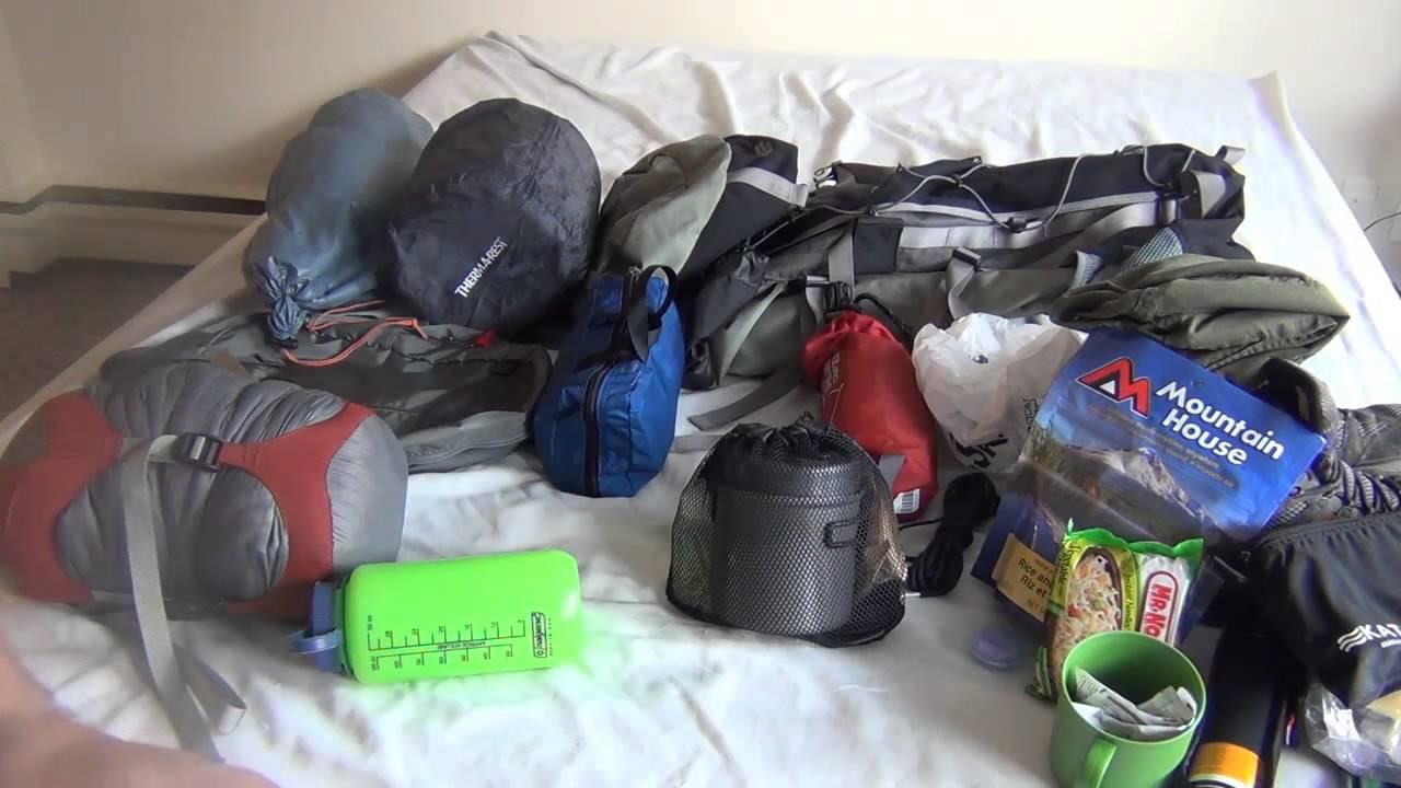 Backpacking Kit Start Up Survival Youtube
